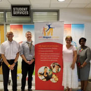 Partnership with Lowe's Grove Middle School